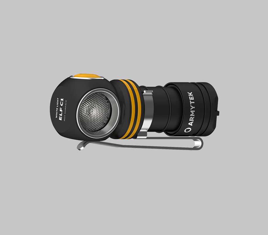 Налобный LED-фонарь Armytek Elf C1 Micro USB - фото 2