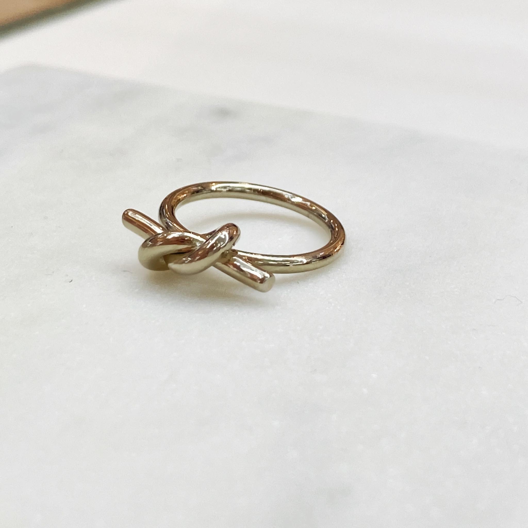 Кольцо Узелок (брасс-1)