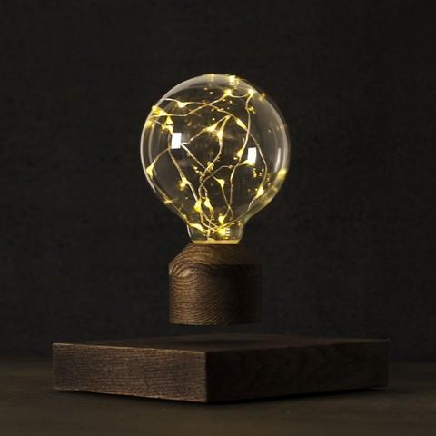 Левитирующий светильник Lesvet Cosmic венге