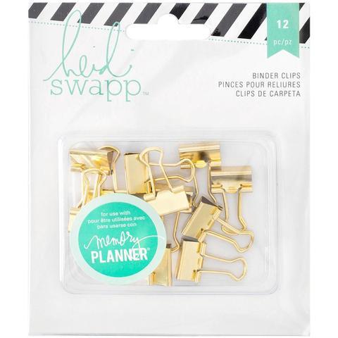 Зажимы Heidi Swapp Memory Planner Binder Clips 12 шт