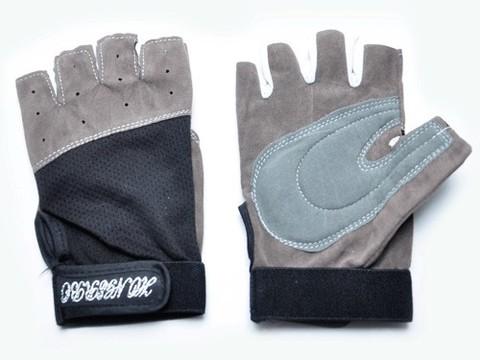 Перчатки для велосипедистов. Материал: ткань, искусственная замша. Размер L. :(0075L):