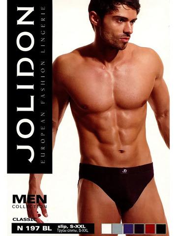 Мужские трусы Slip N197BL Jolidon