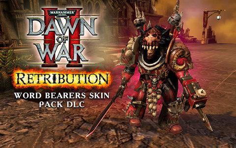 Warhammer 40,000 : Dawn of War II - Retribution - Word Bearers Skin Pack DLC (для ПК, цифровой ключ)