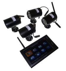 Беспроводной комплект на 4 видеокамеры ENC ES-2408-4