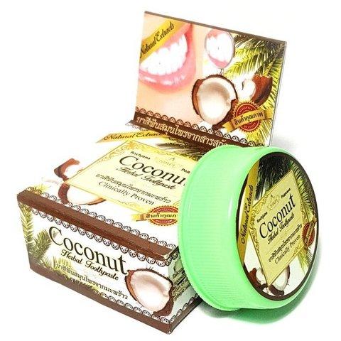 Зубная паста с кокосом 30г Таиланд