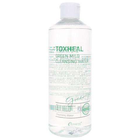 Жидкость для снятия макияжа ESTHETIC HOUSE TOXHEAL Green Mild Cleansing Water, 530 мл