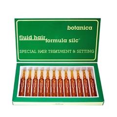 Ампулы FLUID HAIR FORMULA SILC BOTANICA для восстановления структуры поврежденных волос