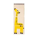 Органайзер на стену 3 Sprouts Жираф (жёлтый)