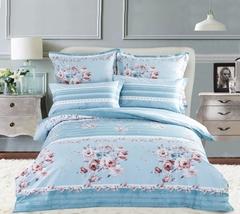 Сатиновое постельное бельё  2 спальное  В-165
