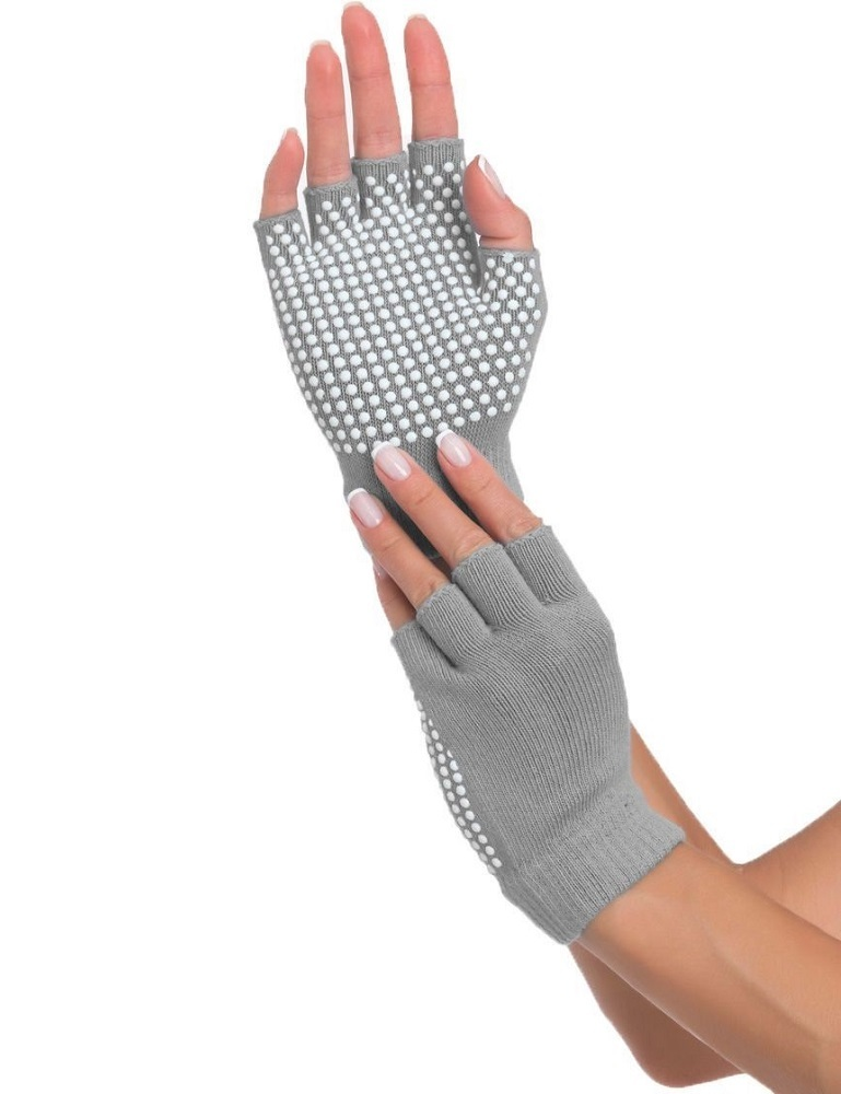 Перчатки противоскользящие для занятий йогой bradex SF 0207