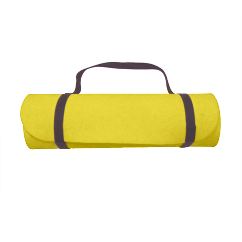 Коврик для фитнеса Eco Mat Yellow 2Р/40