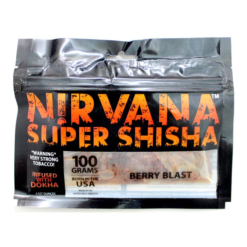 Табак для кальяна Nirvana - Berry Blast 100 гр.