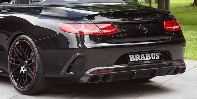 Обвес Brabus для Mercedes S-class Coupe (C217) 63 AMG W222