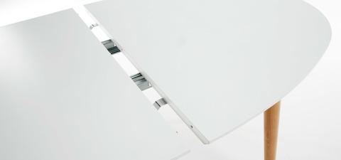Стол Oakland овальный раздвижной белый