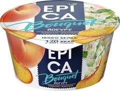 Йогурт «Epica Bouquet» персик, жасмин 4,8% 130 г