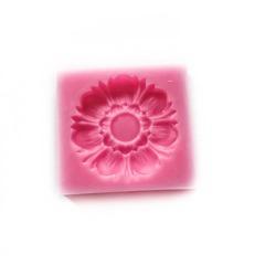 0947 Молд силиконовый. Цветок