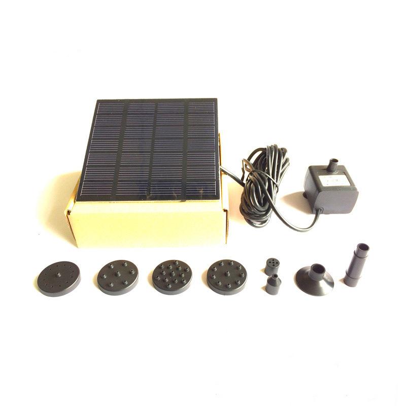 Фонтан беспроводной EPECOLED 70см (на солнечной батарее)
