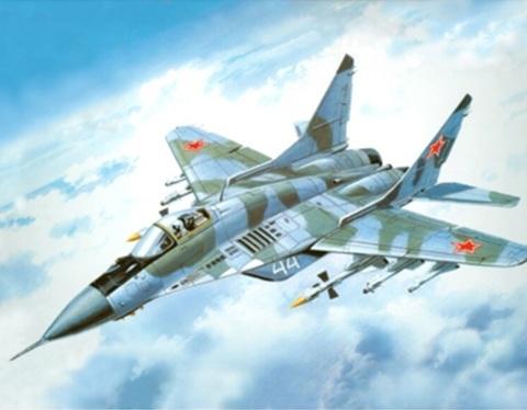 Алмазная Мозаика 5D 40x50 Военный самолет (арт. 2PAVDD409)