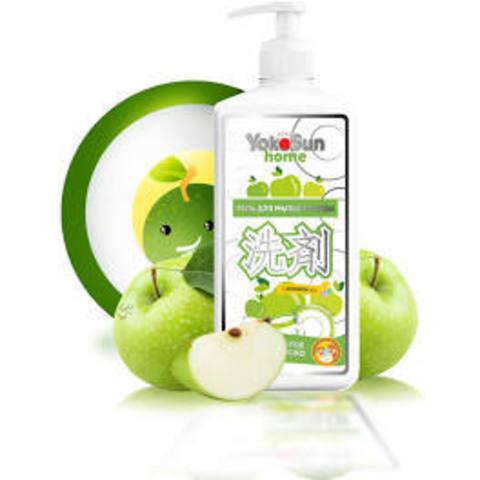 Гель Yokosun для мытья посуды, фруктов, овощей 1 литр