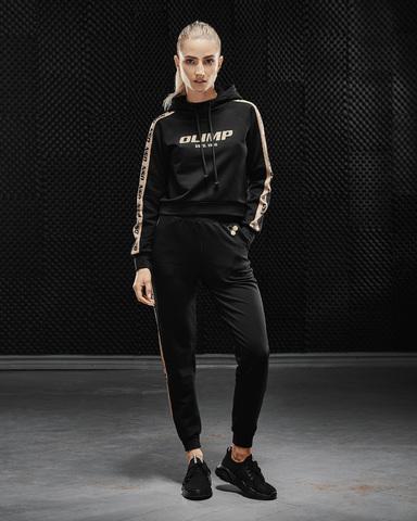Штаны женские Olimp Tracksuit Bottom Gold Series Black