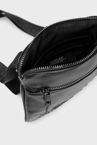 Мужская черная сумка Replay