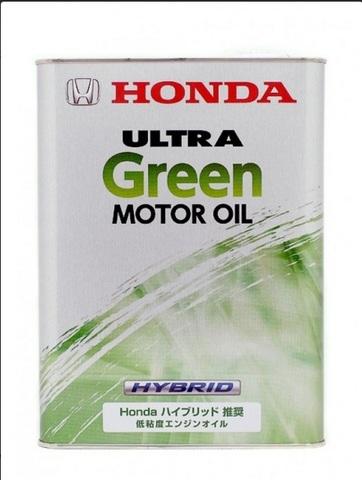 HONDA ULTRA GREEN Масло моторное для гибридов. (железо/Япония)