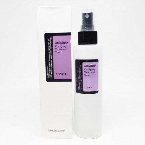 CosRX AHA/BHA Clarifying Treatment Toner 150ml Тонер очищающий с AHA/BHA-кислотами, 150мл, CosRX