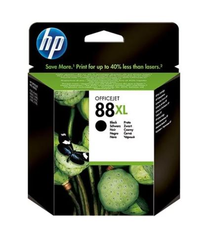 Оригинальный картридж струйный HP C9396A (№88XL), черный