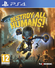 Destroy All Humans! Стандартное издание (PS4, русские субтитры)