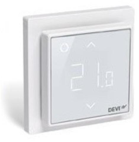 Devi DEVIreg Smart Wi-Fi Polar White - терморегулятор, цвет полярно-белый (140F1140)