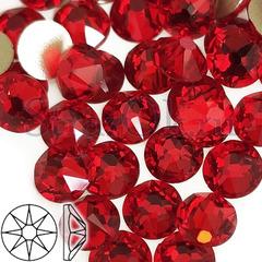 Купить стразы в Москве оптом Xirius 8+8 Light Siam красные