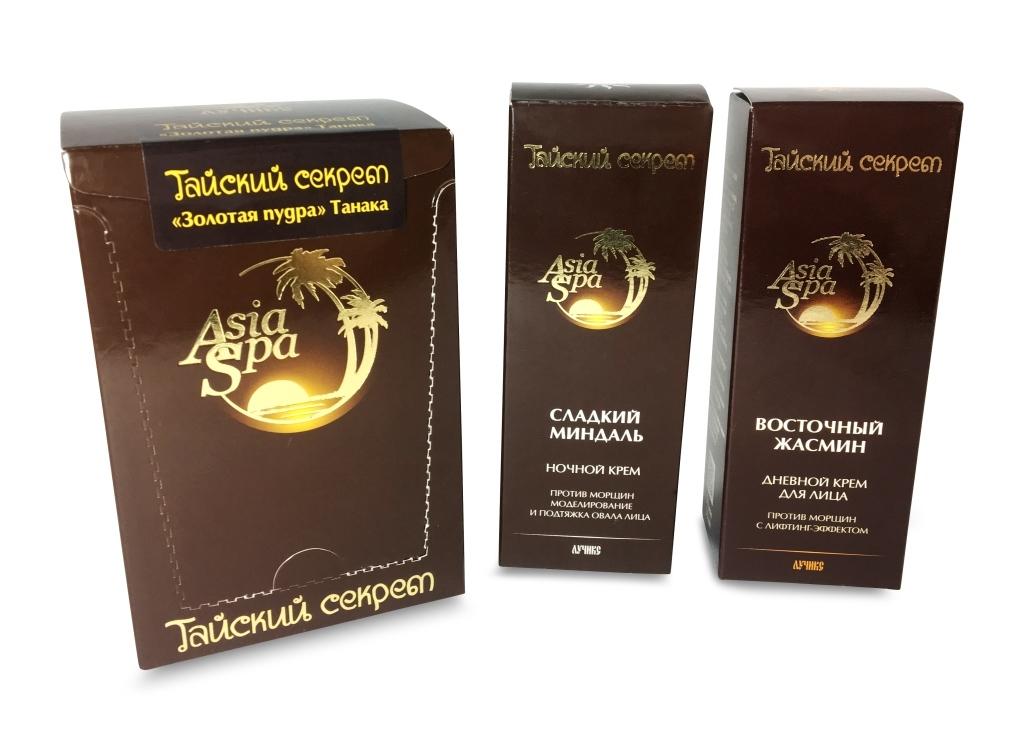 Подарочный набор для красоты и молодости лица «Тайский секрет»