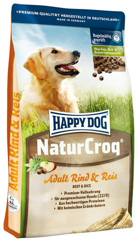 Happy Dog NaturCroq Adult Beef & Rice