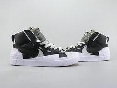 Sacai x Nike Blazer Mid 'Black/White'