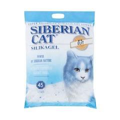 Наполнитель для кошачьего туалета, Сибирская Кошка силикагелевый, мешок