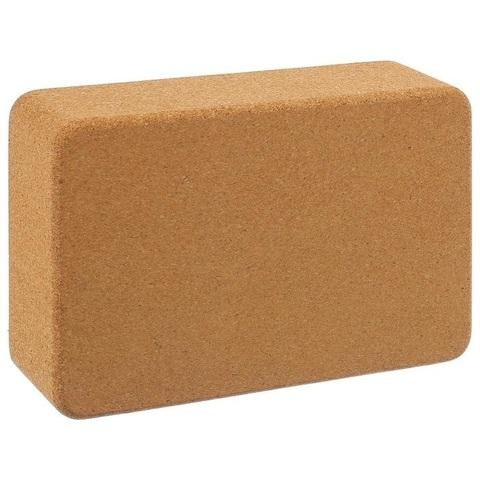 Опорный блок пробковый для йоги Sangh 22*15*7 см