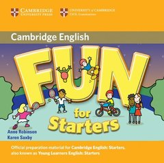 Fun for Starters, Movers and Flyers 2Ed  Starters  Audio CD !!