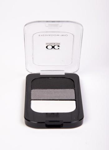 OG-Y6604 Тени для век трёхцветные тон 01 белый-серый-черный,TRIO EYESHADOWS CLASSIC SMOKY