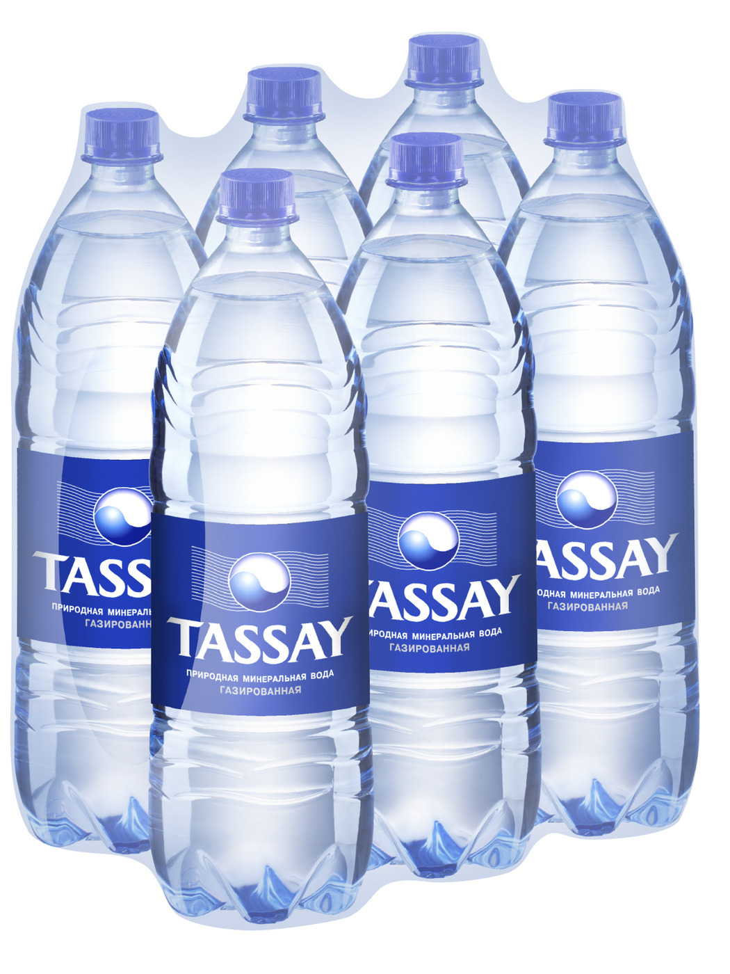 Минеральная вода TASSAY газированная 1,5 л