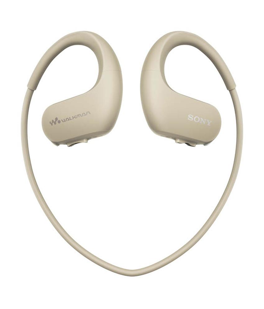 NW-WS413С MP3 плеер Sony Walkman, кремовый