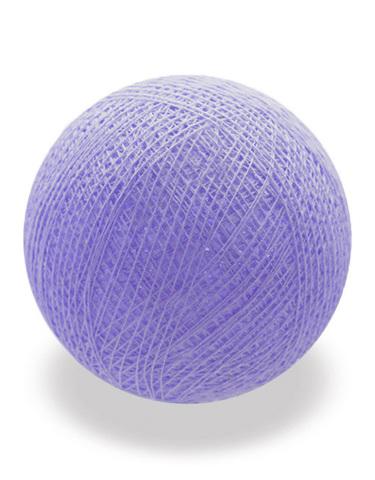 Хлопковый шарик лиловый