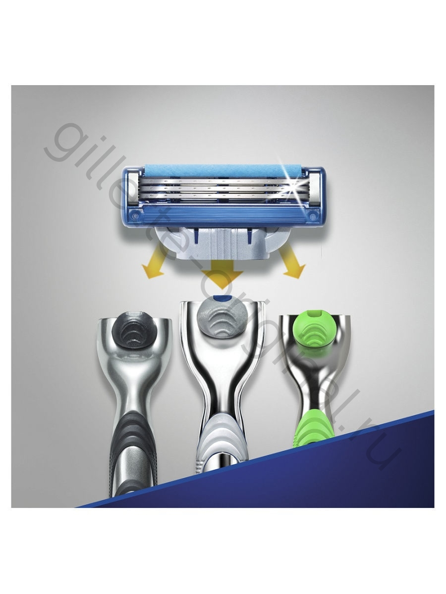 Кассеты Gillette Mach3 Turbo 12 шт