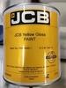 Краска желтая JCB оригинал 2.5 литра 4220/0402
