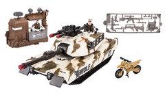 Chap Mei Тундровый патрульный танк, с фигурками, мотоциклом и оружием (звук, свет)(540059)