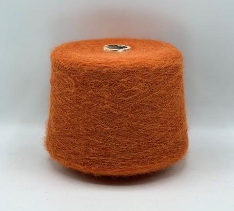 Cofil (пр.Италия) ,art-Sciarada 900м/100гр,14% мохер, 14% шерсть, 42% акрил, 30% па, цвет-Оранжевый на черной основе арт-10813