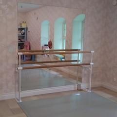 Станок хореографический СП1-2  двухрядный, стена + пол
