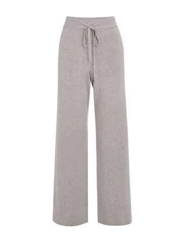 Женские брюки светло-кофейного цвета из вискозы - фото 1