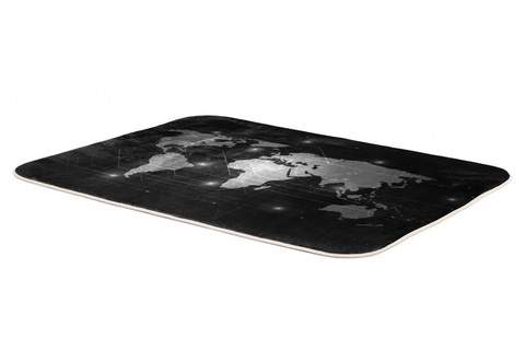 Плюшевый коврик 140х200 см (Digital Map)