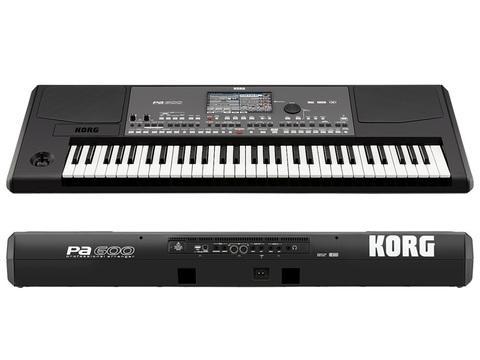 Синтезаторы и рабочие станции Korg PA600