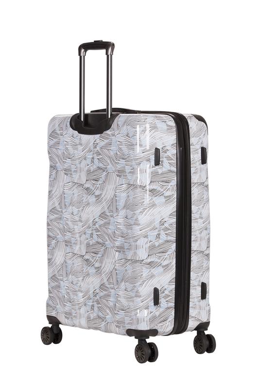 Чемодан WENGER CASCADE, цвет белый с принтом, 42x26,5x62 см, 44 л (WG7330000167)